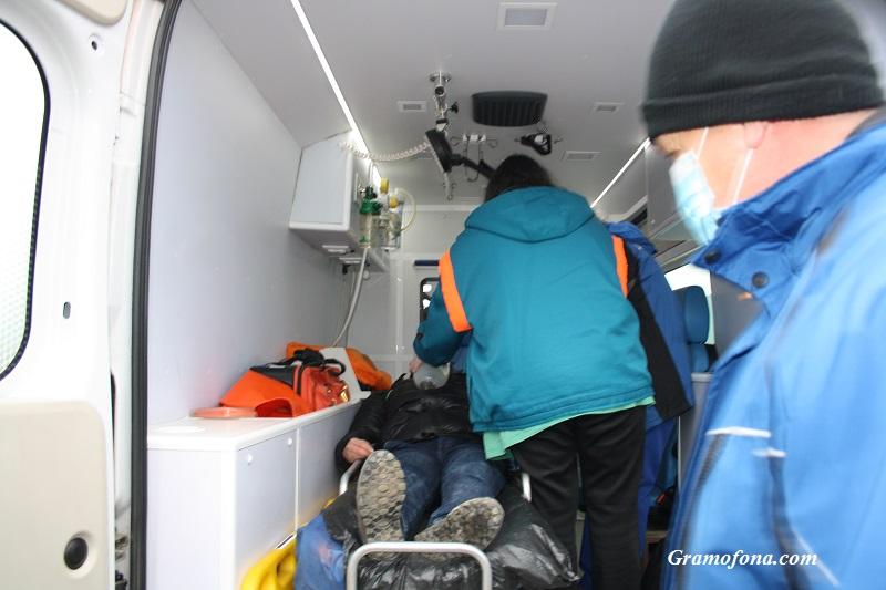 Инфаркт покосил китайския турист в Банско