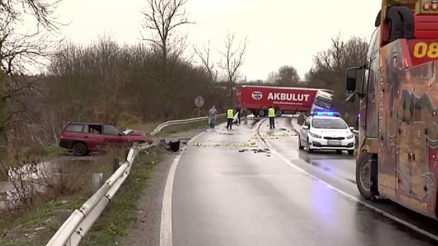 Граничен полицай загина в катастрофа на пътя Елхово – Лесово