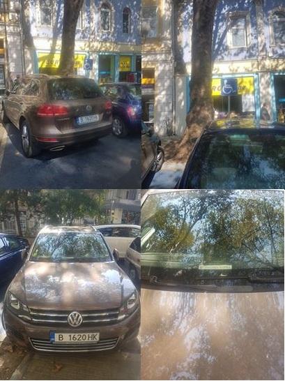 Сигнал от Варна: Общинар паркира на инвалидно място