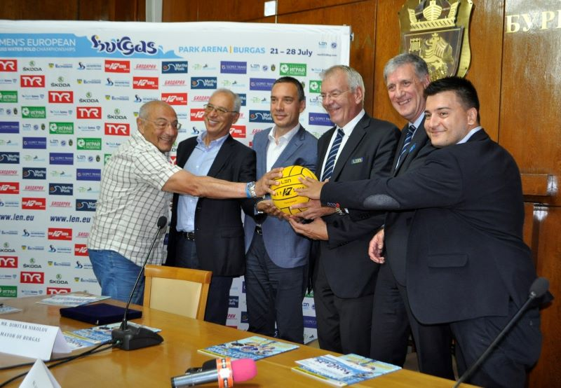 Бургас връща България на световната карта на водната топка