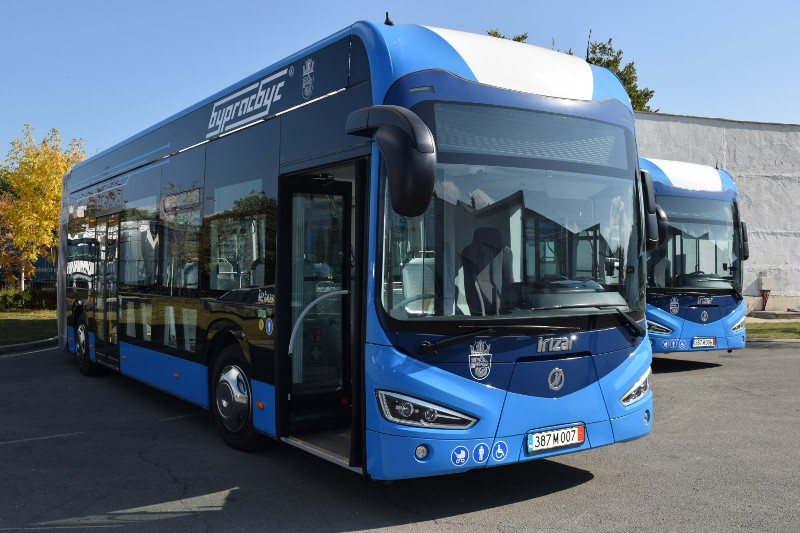 Вижте новите електроавтобуси на Бургас