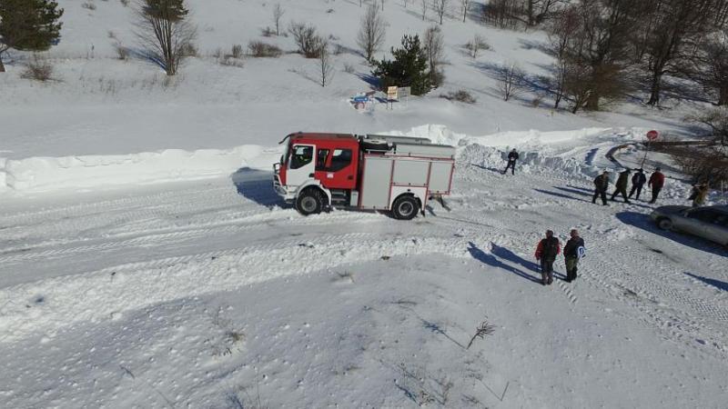 Осем младежи в снежен капан под Бузлуджа