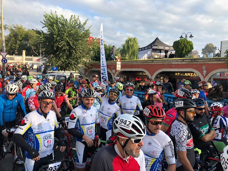 Страхотно представяне на царевските велосипедисти в Одрин