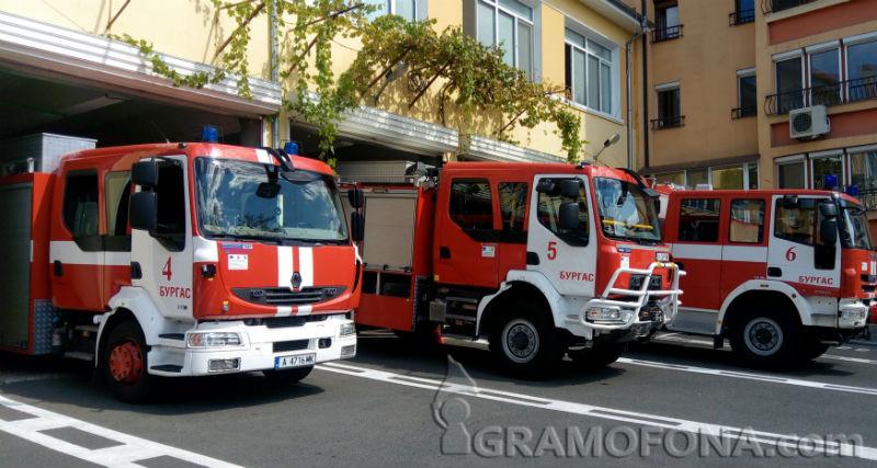 Две общини в Бургаско без собствени пожарни, в други две няма хора за пълни екипи