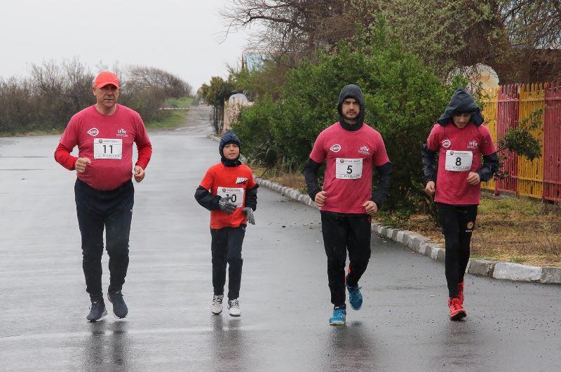 Поморийският кмет пробяга 11 км за час и половина