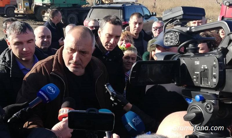 Борисов обеща: След обходите на Камено и Поморие идва ред на северния път на Бургас