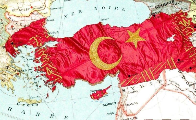 Депутат показа карта, на която половин България е към Турция