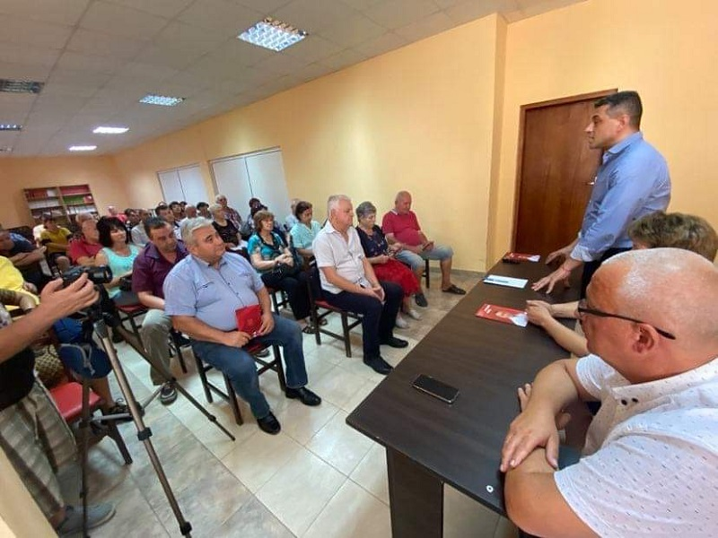 Красимир Янков във Враца: БСП трябва да предложи план за по-добър живот на българските граждани
