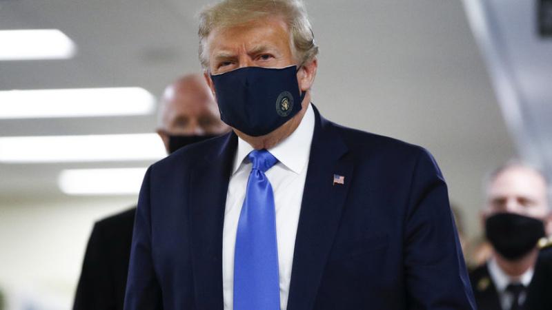 60 000 души в САЩ са новозаразените, Тръмп сложи маска