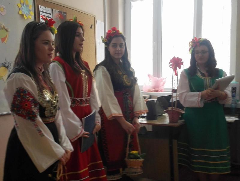 Красиви ученички от Руската пяха