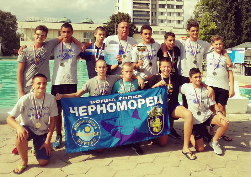 "Ватерполистите на ""Черноморец"" спечелиха и купа ""Дружба"""