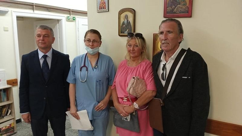 Ирландец от Равда се лекува в Комплексния онкологичен център в Бургас