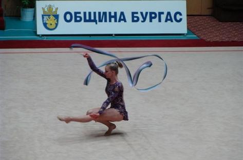 Звезди на художествената гимнастика начело с Илияна Раева пристигат в Бургас