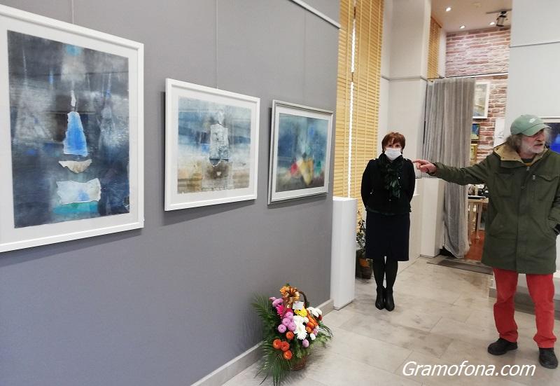 35 години по-късно Живко Иванов отново рисува акварел