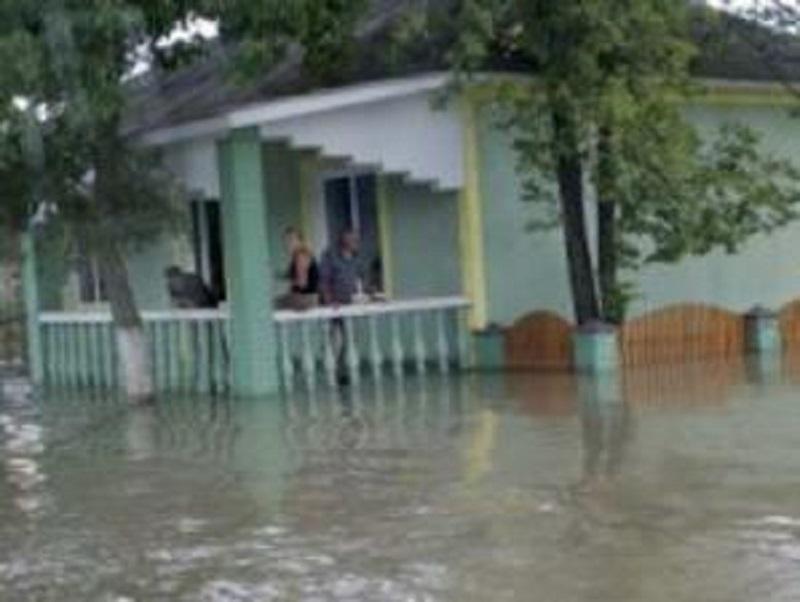 Наводнения в Молдова