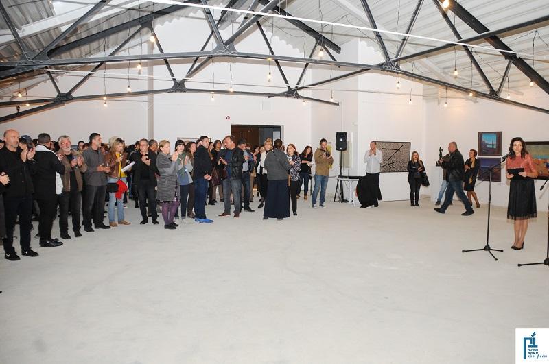 Магазия 1 се превърна в модерна галерия за Порт Прим Арт Фест