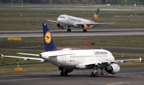 Стачка в Луфтханза блокира полети в Европа