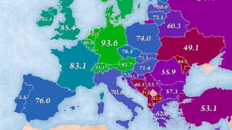 В България се живее по-добре, отколкото в другите балкански страни