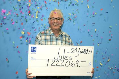 Късметлия: Канадски пенсионер за втори път печели милион от лотария