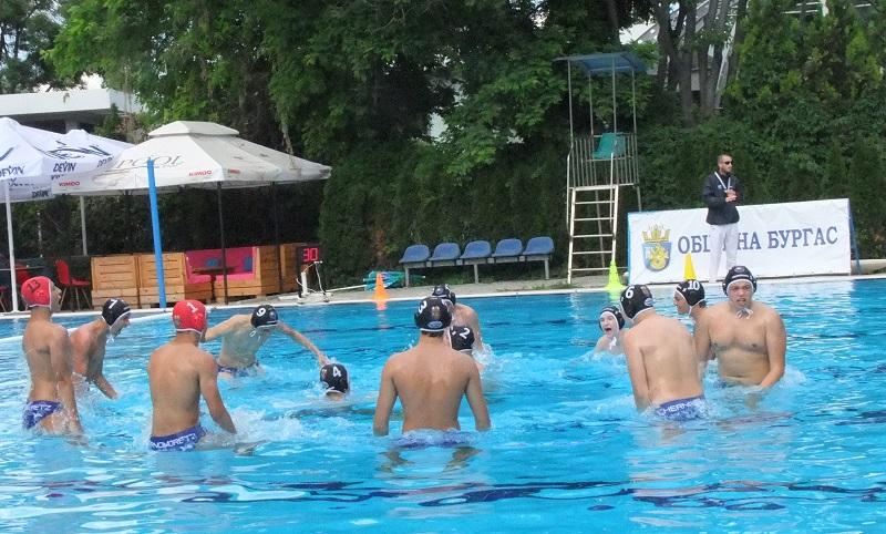"""Черноморец"" спечели пореден медал за бургаската водна топка"