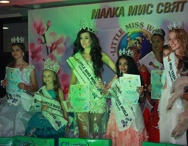 Избират малките Крал и Кралица на света в Бургас