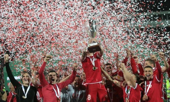 ЦСКА спечели своята 20-а купа на България