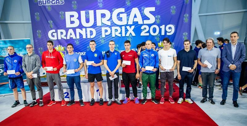 Ето кои са победителите в плувния турнир Гран При Бургас 2019