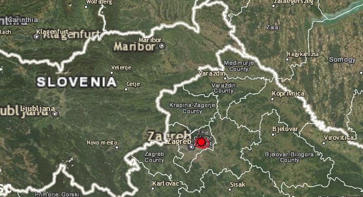 Две земетресения в Загреб - има жертва и материални щети