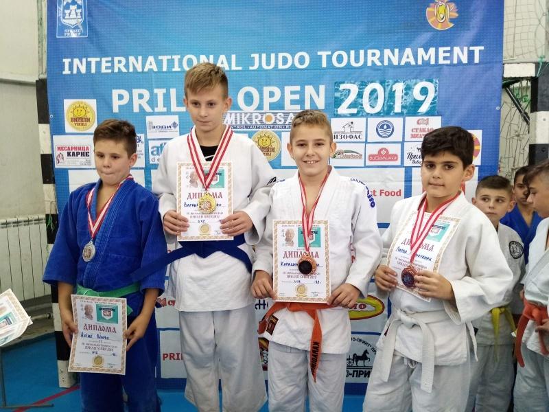 Бургаските джудисти се представиха отлично в два международни турнира