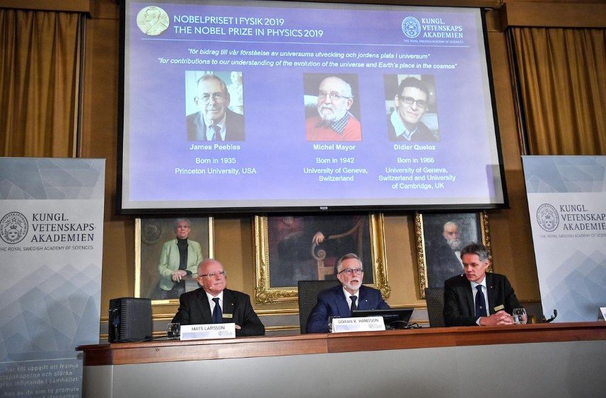 Трима спечелиха тазгодишния Нобел за физика