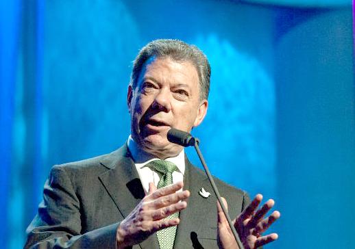 Колумбийският президент получи Нобел за мир