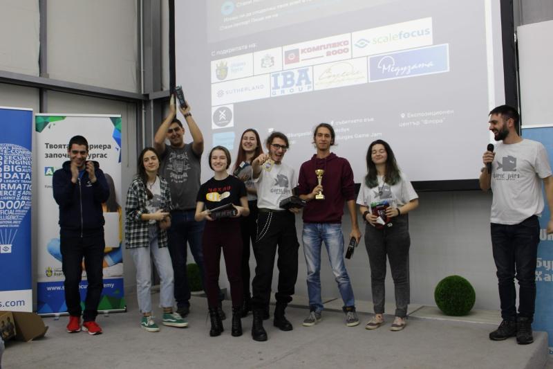 Игра с карти спечели първото място на Burgas Game Jam 2020