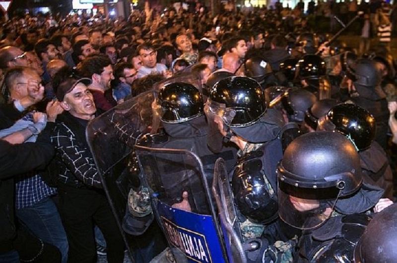 Размирици в Скопие