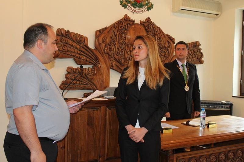 Първи работен ден на Женя Гандиева като кмет на Лозенец