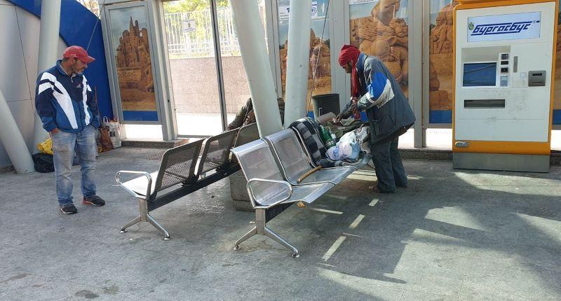 МСДС-Бургас алармира: Централната автобусна спирка е средище на бездомници