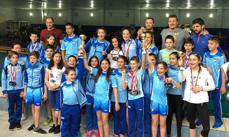 Бургаските акули със силно представяне на Международен турнир