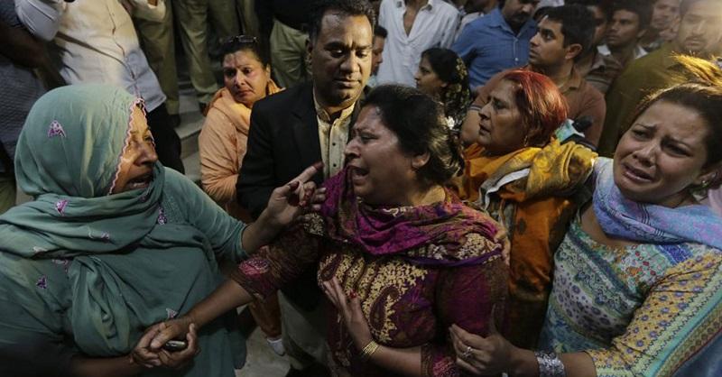 300 ранени при атентат в пакистански град