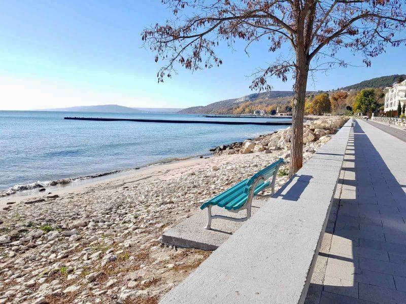 Няма жива душа в курортите на север от Варна