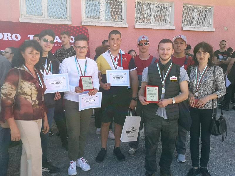 Най-добрите млади строители отново са от Бургас