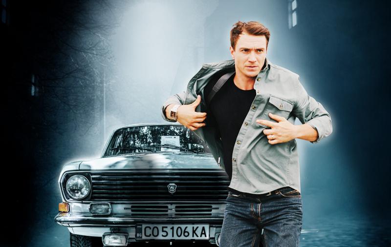 Капитан Холивуд на Дните на руската култура в Бургас