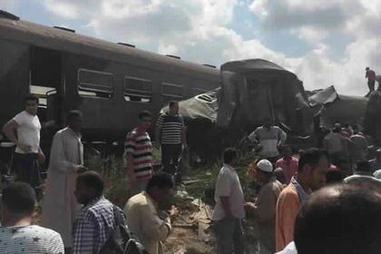 49 жертви на влакова катастрофа в Египет