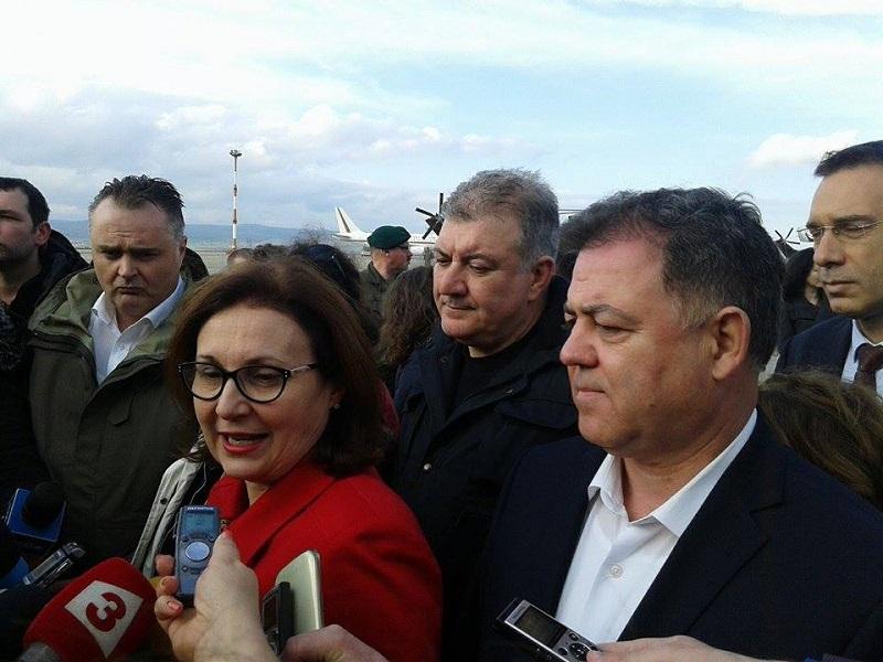 Премиери и министри инспектират оградата на българо-турската граница