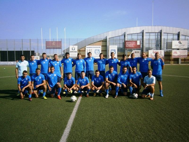 Футболистите на Поморие запазват мястото си в Б група