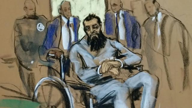 Извършителят на атаката в Манхатън се яви пред съда в инвалидна количка
