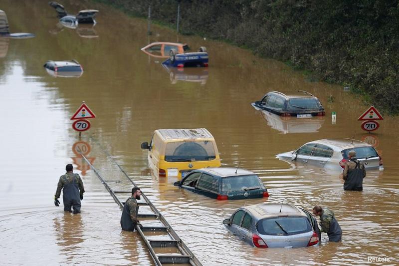 170 са вече жертвите на опостушителното наводнение в Германия и Белгия