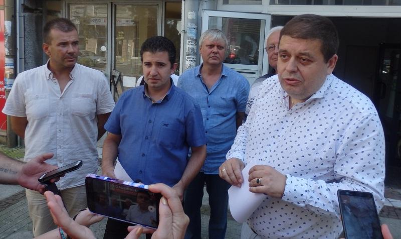БСП - Бургас: Доволни сме от Бенчев, но вече не ни представлява