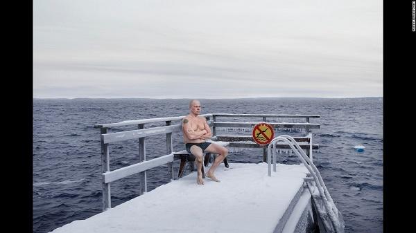 Зимното къпане във Финландия