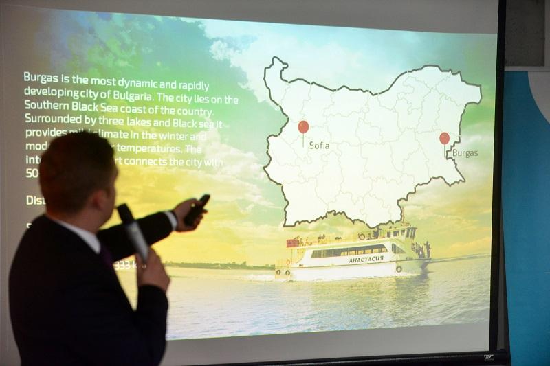 Бургазлии на Глобалната конференция на TCI в София
