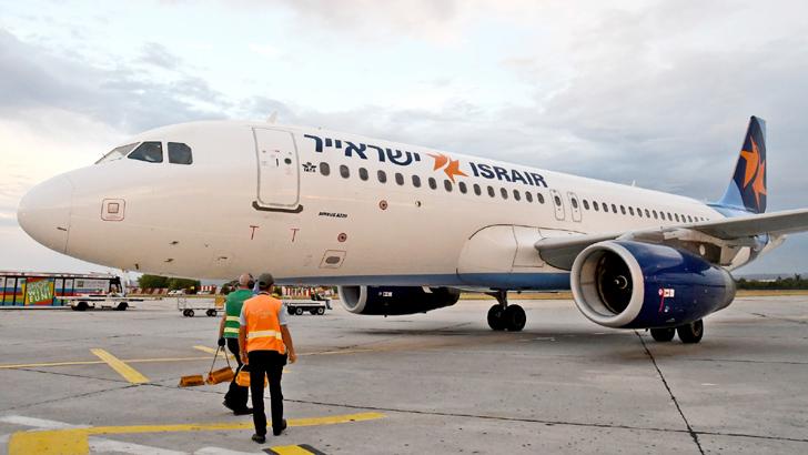 Варна посрещна първия полет от Израел