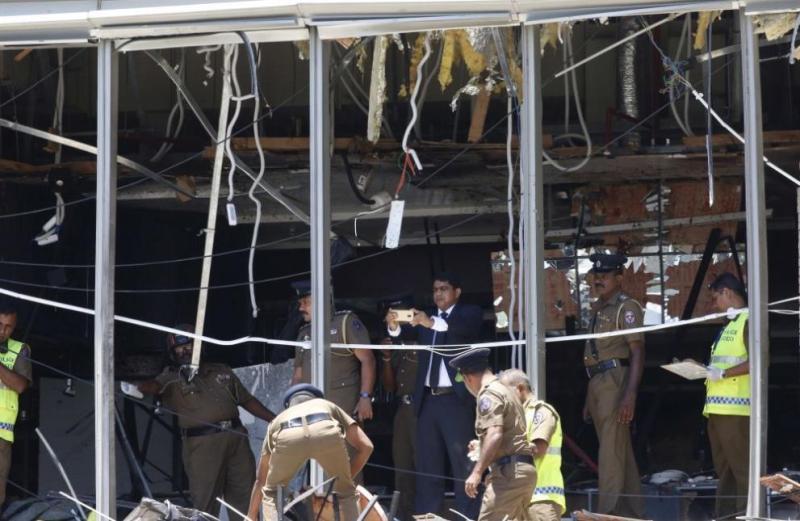Задържаха 7 заподозрени за атаките в Шри Ланка